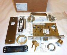 Falcon MA161 DN 630 Mortise Exit Connecting Lock Dane Napa RH w/ Cyl STAINLESS