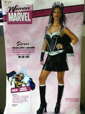 X-MEN STORM DELUXE ADULT COSTUME SIZE MEDIUM WITH WHITE WIG RARE HTF DISGUISE
