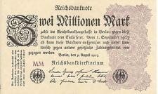 GERMANY , 2 MILLIONEN MARK,1923, UNC
