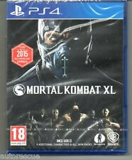 "Mortal KOMBAT XL ""NUOVO & Sealed' * ps4 (quattro) *"