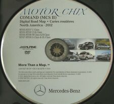 2012 Mercedes COMAND MCS II GPS Navigation Map Update Disc