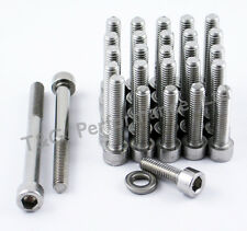 Honda CBR929RR Fireblade Stainless Engine Cover Bolts Kit