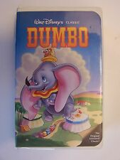 Walt Disney's Dumbo Black Diamond Red Signature VHS Vido Tape