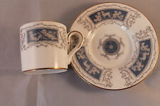 RETRO VINTAGE COFFEE CAN COFFEE CUP DEMI TASSE & SAUCER COALPORT REVELRY PRE 61c