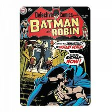 Batman And Robin large metal sign 400mm x 300mm (hb)