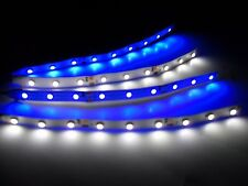 RC Blue and White Underbody glow LED Strip Lights Superbright FPV Quadcopter 6""