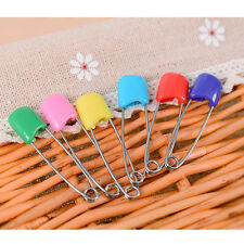 10Pcs Popular Safe Hold Locking Baby Dress Cloth Nappy Diaper Shower Pins Kit