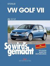 WERKSTATTHANDBUCH REPARATURANLEITUNG SO WIRD´S WIRDS GEMACHT 156 VW GOLF VII 7