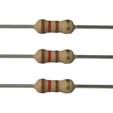 100 x 120 Ohm Carbon Film Resistors - 1/4 Watt - 5% - 120R - Fast USA Shipping
