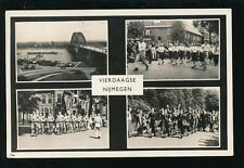 Netherlands Holland NIJMEGEN Vierdaagse March M/view 1955 RP PPC