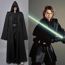 Star Wars Jedi/Sith Anakin Skywalker Halloween Cosplay Costume Outfit Tunic Suit
