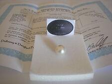 South Sea Bianco sciolti Round colta Pearl AA + 13 -- 14 mm (gemmologi valore $4,400)