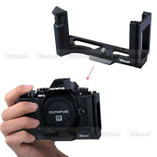 Vertical Quick Release Plate Camera Holder Grip fr Tripod Ballhead Olympus E-M10
