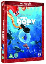 Finding Dory 3D Blu-Ray 3D + 2D Disney Pixar with Slipcover BRAND NEW Free Ship
