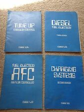 1977 78 79 80 Volkswagen Audi Set of 4 Manuals Fuel Air Flow Charge Tune Up