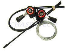 New Sunrace SLM10 MTB Bicycle Bike Friction Shifters w/ Cable & Housing Set