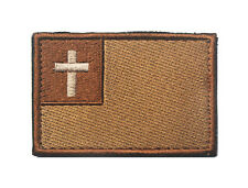 The cross  Christ Badge USA MILITARY ISAF TACTICAL MORALE Embroidered Patch H674