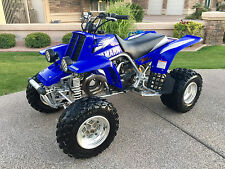 Low Hour Yamaha Banshee 350 2 Stroke **MINT** Blue Low Hours ATV Quad Raptor Yfz