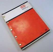 J I CASE W14 ARTICULATED LOADER PARTS MANUAL CATALOG ASSEMBLY EXPLODED VIEW