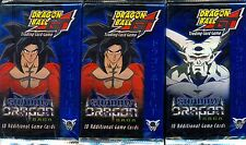 DRAGONBALL Z CCG  3 BOOSTERS SHADOW DRAGON SAGA EN