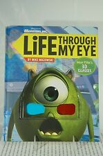 LIFE THROUGH MY EYE HALLMARK BOOK~INCLUDES MIKE'S 3D GLASSES~~NEW~FREE SHIP US~