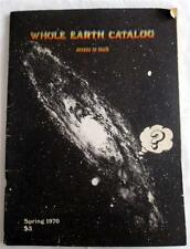 Vintage Whole Earth Catalog  Sprint 1970 Access To Tools Hippie Survival Guide