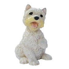 Puppy Dog: West Highland White Terrier Breed Man's Best Friend Canine Sculpture