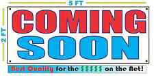 COMING SOON RWB Banner Sign NEW Larger Size Best Quality for The $$$