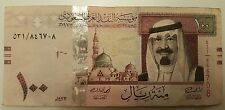 SAUDI ARABIA 100 RIYAL  2012   NOTE P-35c