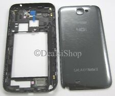 Gray Back Housing Cover Chassis Frame Verizon Samsung Galaxy Note 2 SCH-i605 OEM