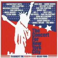 THE CONCERT FOR NEW YORK CITY sacd SUPER AUDIO cd~OFFICIAL~DAVID BOWIE