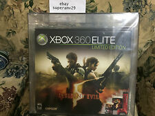 Microsoft Xbox 360 Elite Resident Evil 5 Limited Edition 120 GB VGA 80+ ARCHIVAL