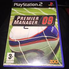 Premier Manager 09 (PS2) PlayStation 2  complete with manual