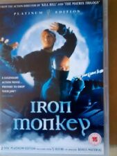 IRON MONKEY  DVD  DONNIE YEN   PLATINUM 2 DISC NEW BUT UNSEALED