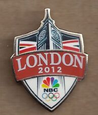 2012 NBC London Olympic Press Pin Media Big Ben