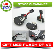8GB GUITAR USB FLASH DRIVE MEMORY STICK  BOY GIRL GIFT PRESENT BIRTHDAY HIM HER