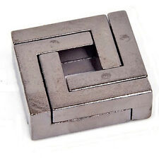 Classic IQ Cast Mind Brain Teaser Metal Puzzle for Adults