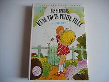 BIBLIOTHEQUE ROSE - LES SURPRISES D'UNE TOUTE PETITE FILLE - J.K BRISLEY 1982