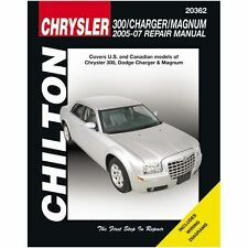 Chilton Repair Manual Chrysler 300, Charger & Magnum, 2005-09 #20362