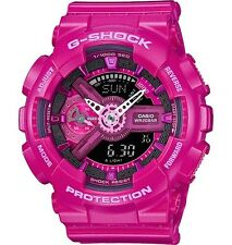 Brand New Casio G Shock S Series GMAS110MP-4A3 Pink Ana Digi Woman's Watch NWT!!