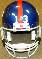 Odell Beckham Giants Gameday Riddell Deluxe Full Size Football Helmet w/ Visor