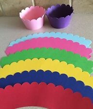 Cupcake Liner Wraps Standard Size Cupcake Wrappers 18ct. Pick Your Color