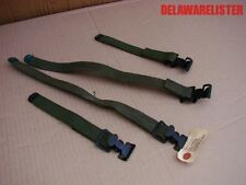 *US Military Truck/Jeep Pioneer Rack Tool Canvas Straps Lot of 4 M35 M151 M818
