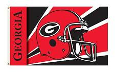 GEORGIA BULLDOGS  3' x 5' College University Premium Flag W/Grommets  1-SIDED