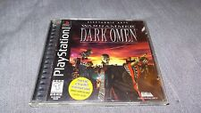 Warhammer: Dark Omen Sony PS1 PlayStation Complete w/ Case & Manual