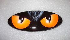FORD EMBLEM mit Katzen Augen Airbrush leuchtend Rote Kitty Eyes B