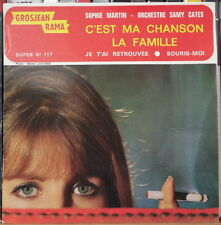 "SOPHIE MARTIN/SAMY CATES CHEESECAKE CIGARETTE 45t 7"" FRENCH EP"
