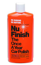 NU FINISH NF76 473ml THE ONCE A YEAR CAR POLISH NUFINISH NEW WAX CARE MEGUIARS