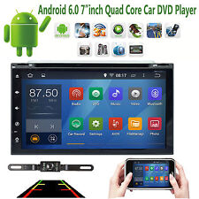 """7"""" Android6.0 Quad Core Car dvd player GPS wifi BT SD radio RDS airplay+camera"""