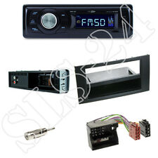 Caliber RMD021 Autoradio + Ford Focus, Fiesta,Kuga, Blende black + ISO Adapter